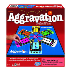 Board Games - Aggravation Classic The Marble Race Game
