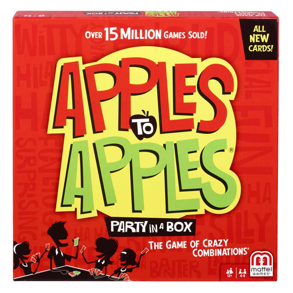 Board Games - Apples To Apples The Game Party Box