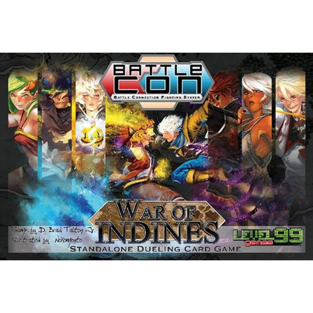 Battle Con War Of Indines The Board Game