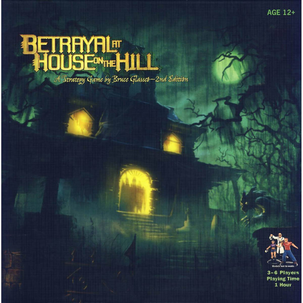 Betrayal At House On The Hill The Board Game