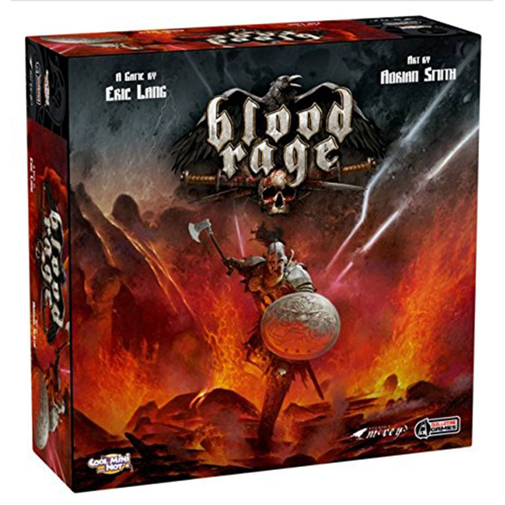 Blood Rage The Board Game