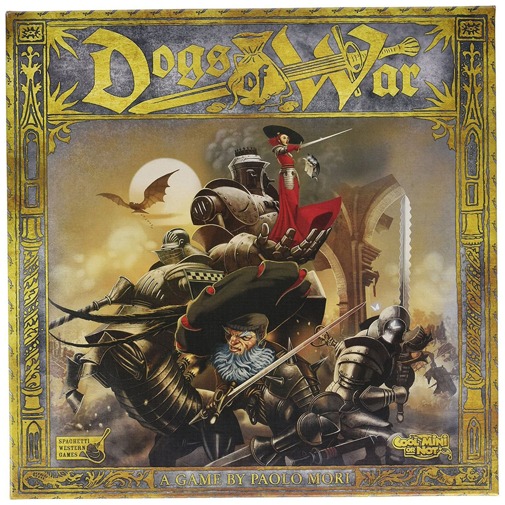 Dogs Of War The Board Game
