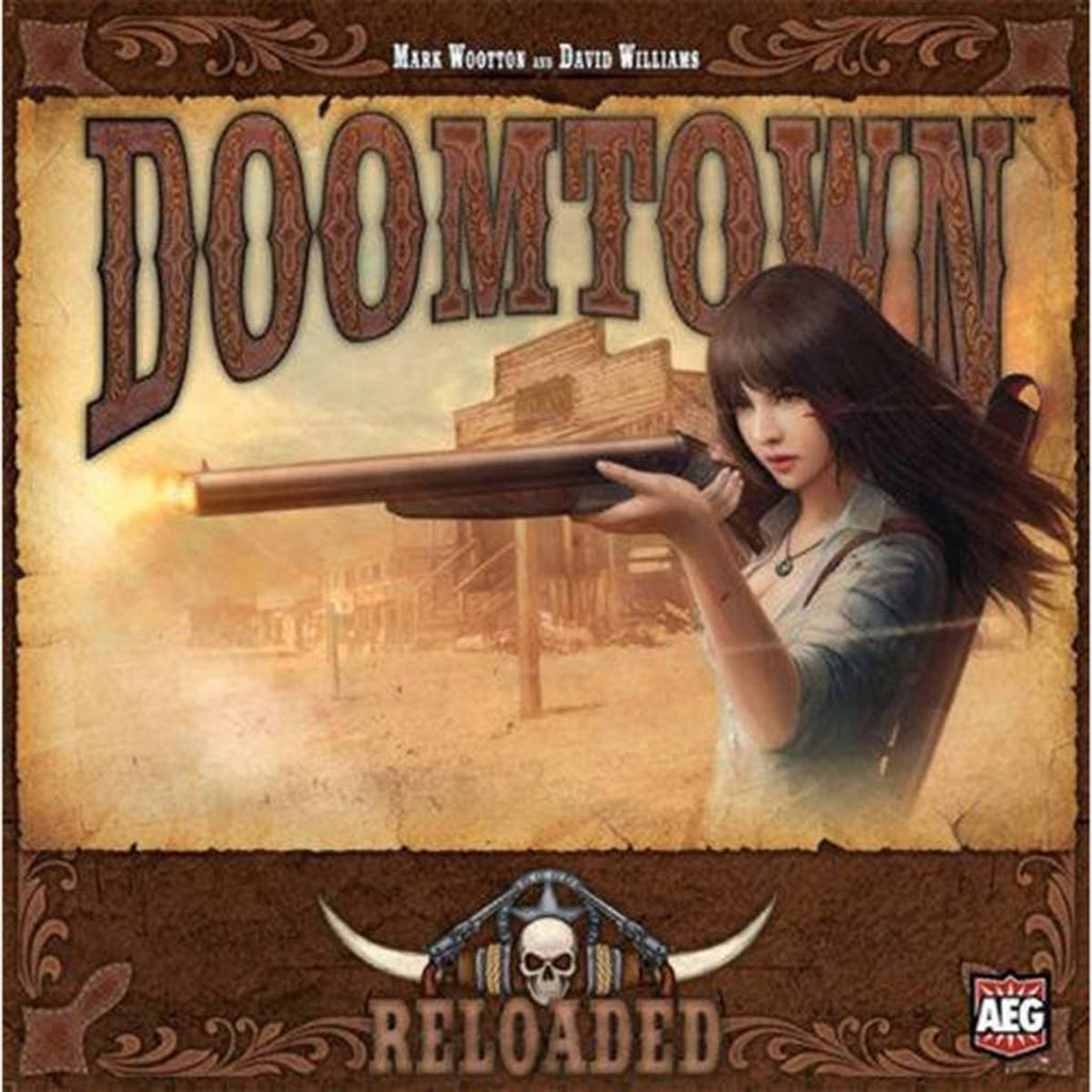 Doomtown Reloaded The Board Game