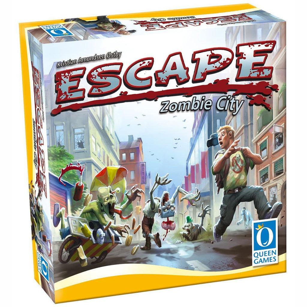 Escape Zombie City The Board Game