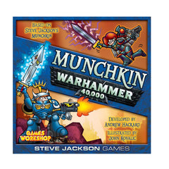 Board Games - Munchkin Warhammer 40,000 The Board Game