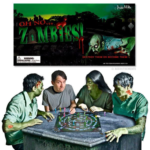 Oh No Zombies! The Board Game - Radar Toys
