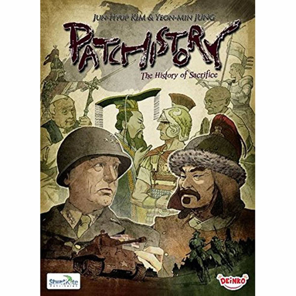 Patchistory The Board Game
