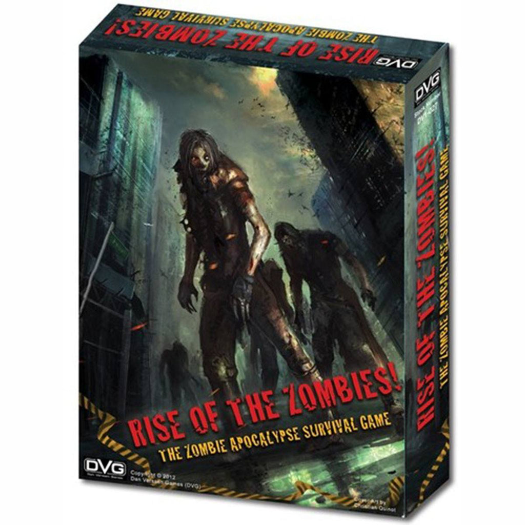 Rise of the Zombies! The Zombie Apocalypse Survival Board Game - Radar Toys