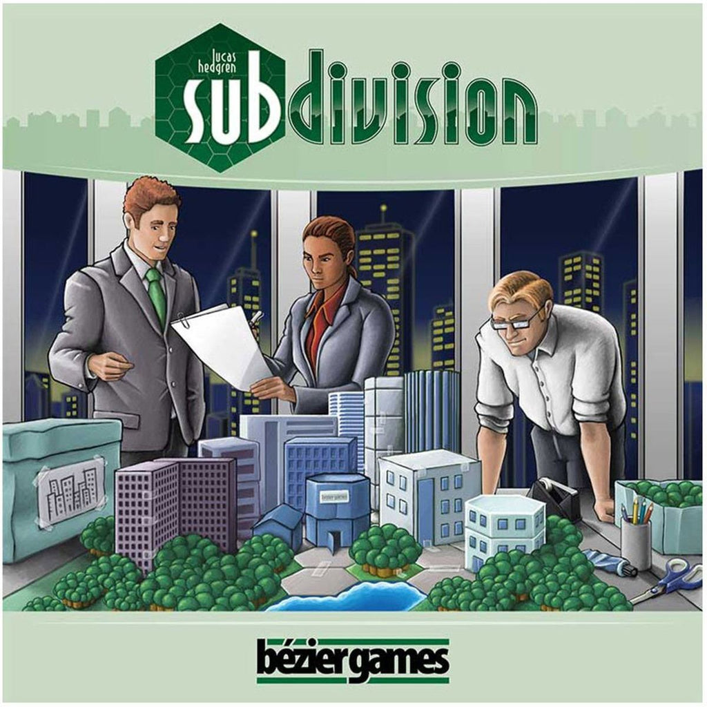 Subdivision The Board Game