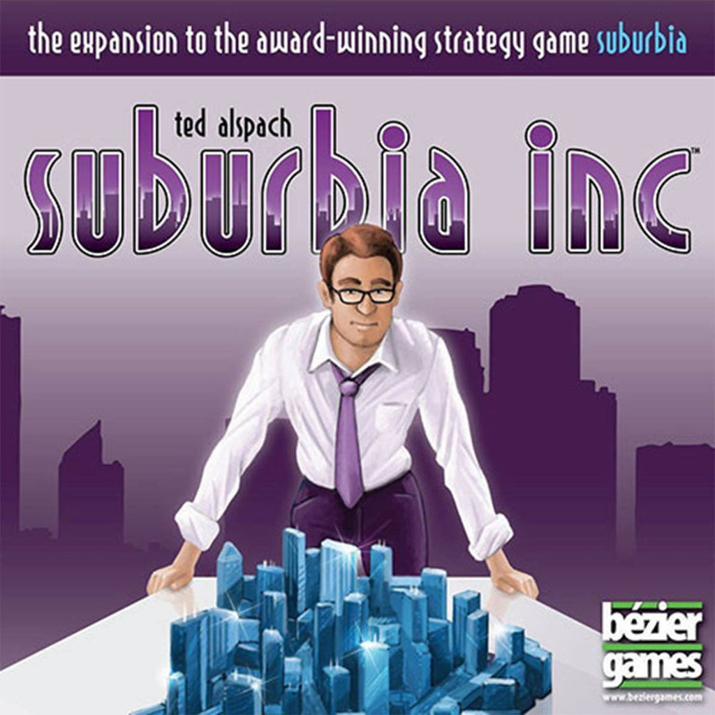 Suburbia The Expansion Suburbia Inc Board Game - Radar Toys
