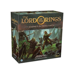 Board Games - The Lord Of The Rings Journey In Middle Earth The Board Game