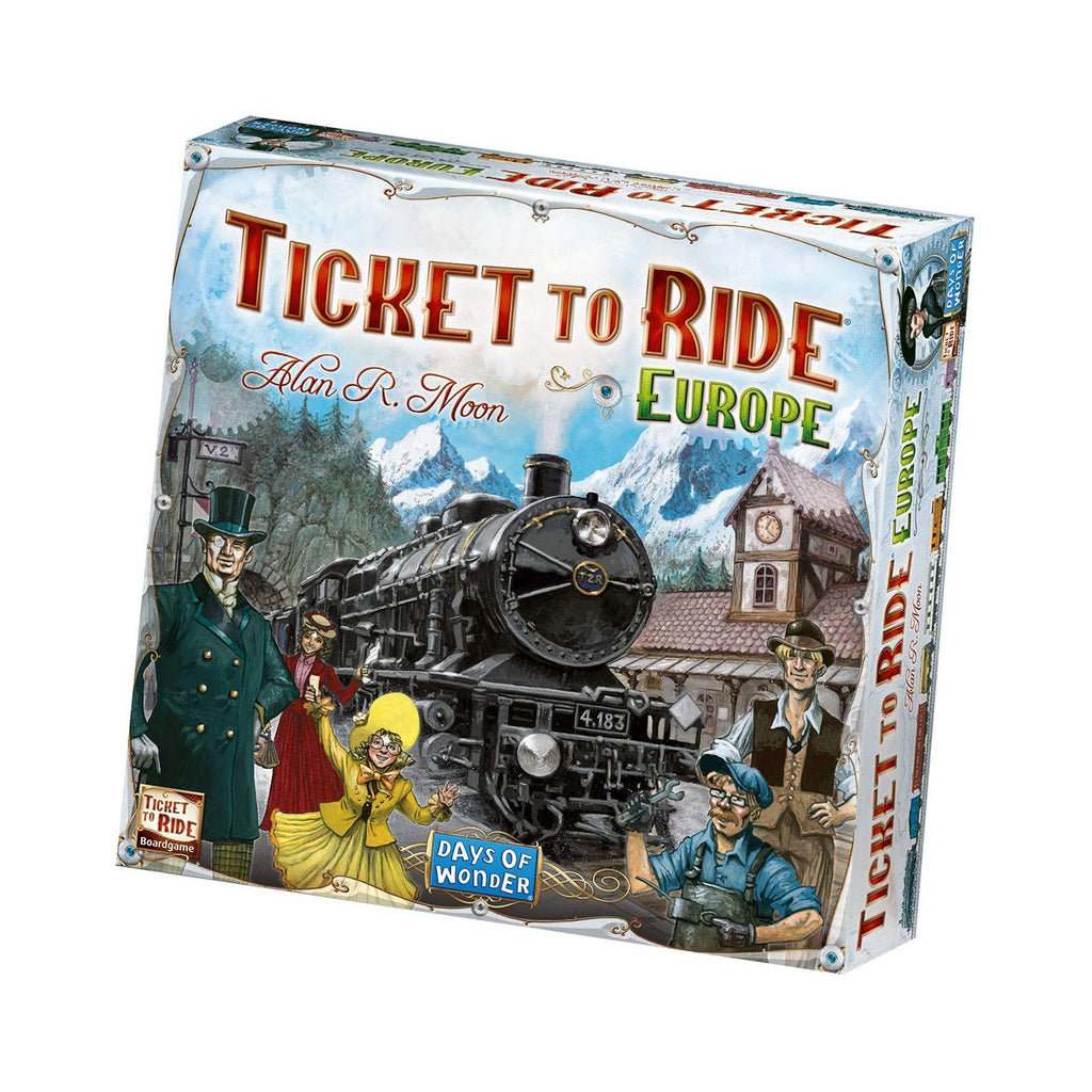 Board Games - Ticket To Ride Europe The Board Game