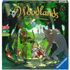 Board Games - Woodlands The Tile Laying Game