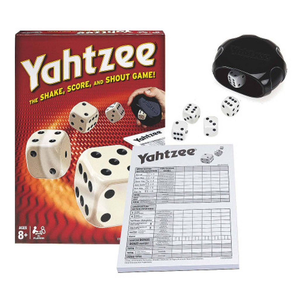 Yahtzee The Shake Score And Shout Game