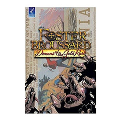 Bookmarks - Foster Broussard Demons Of The Gold Rush Graphic Novel