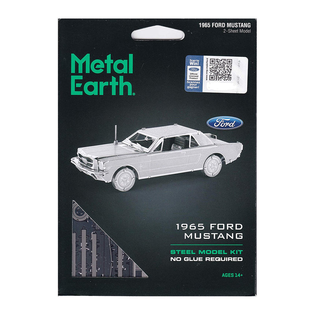Metal Earth 1965 Ford Mustang Coupe Model Kit