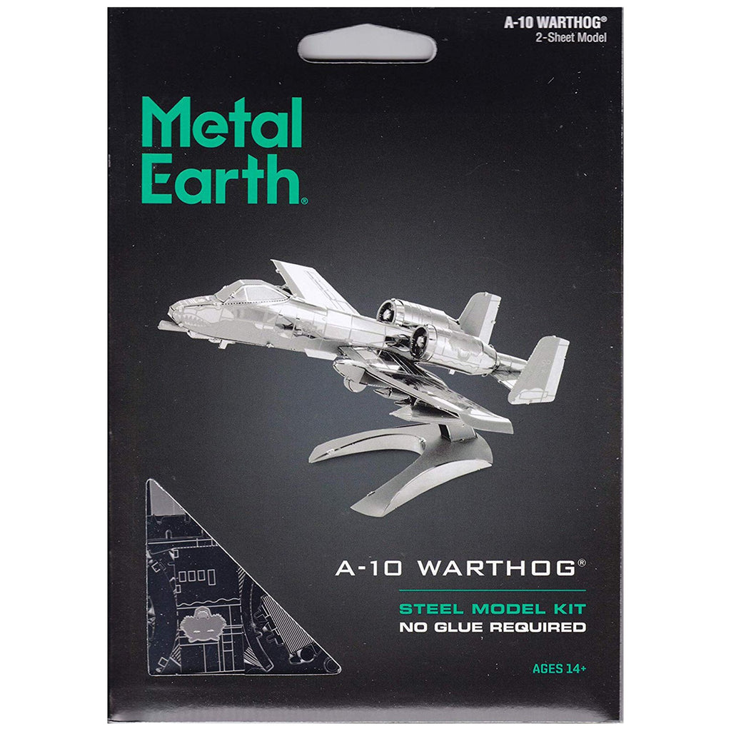 Metal Earth A-10 Warthog Model Kit