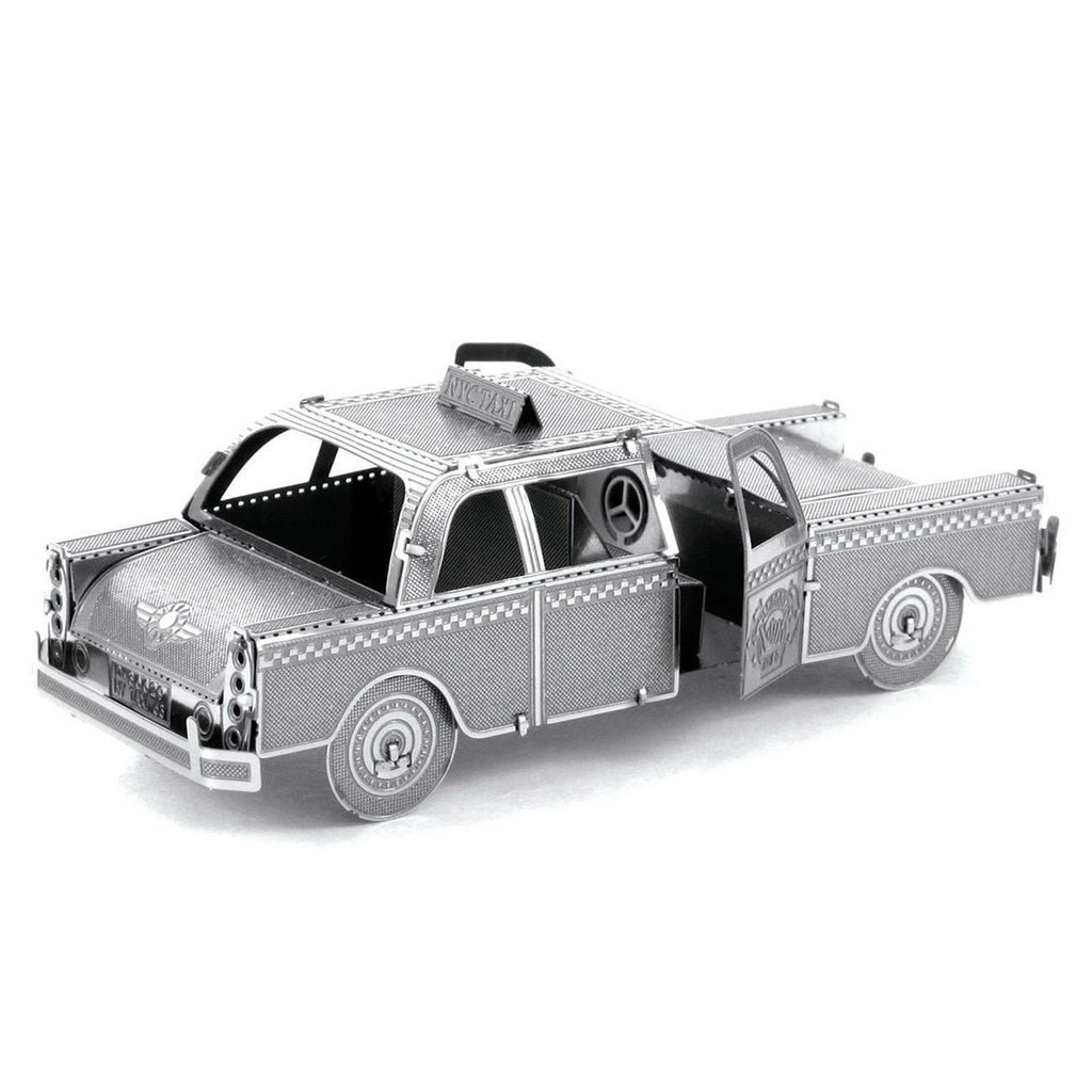 Metal Earth Checker Cab Model Kit
