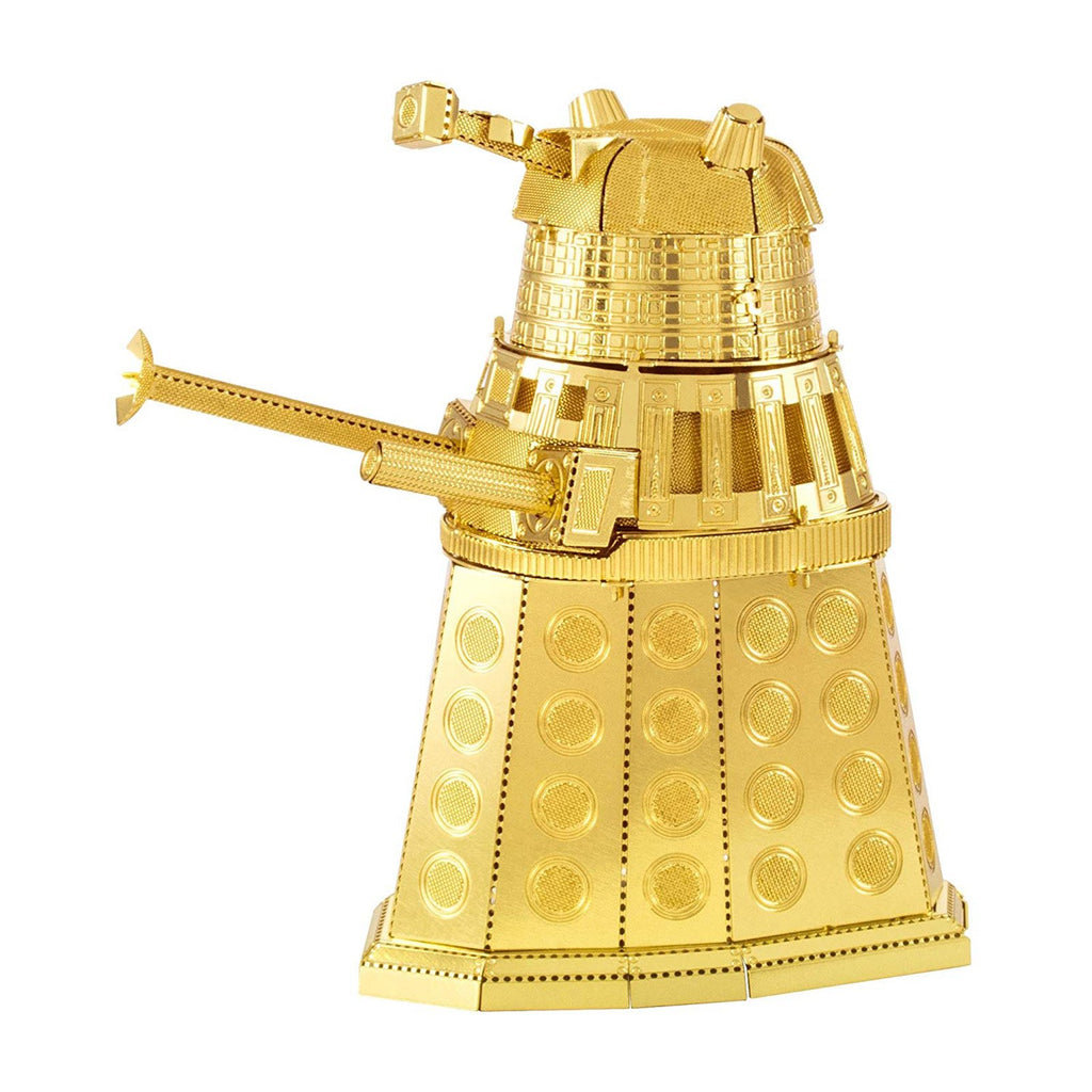 Metal Earth Doctor Who Gold Dalek Steel Model Kit