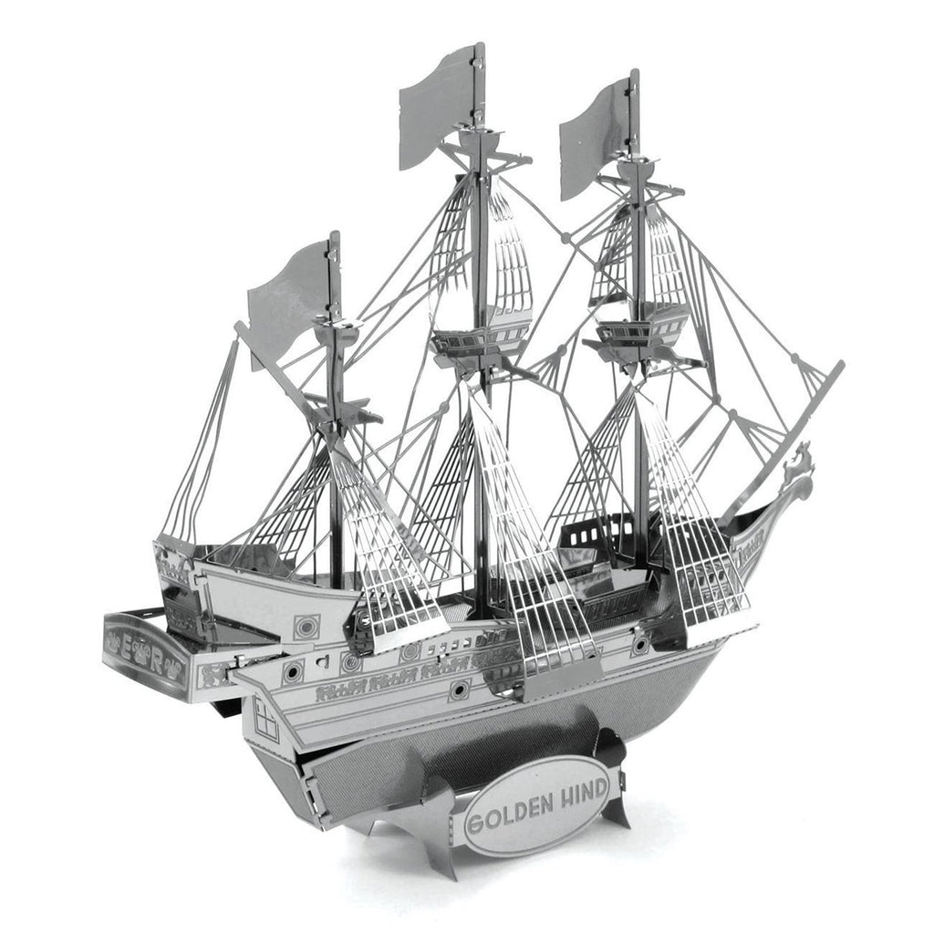 Metal Earth Golden Hind Ship Model Kit
