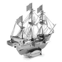 Building Kit - Metal Earth Golden Hind Ship Model Kit