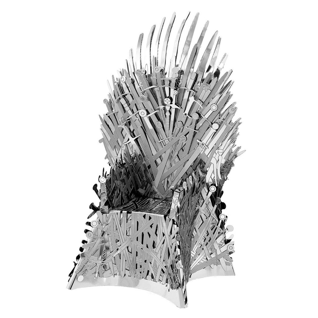 Metal Earth Iconx Game Of Thrones Iron Throne Steel Model Kit