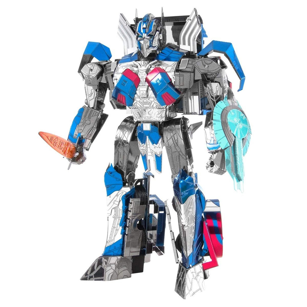Metal Earth Iconx Transformers Last Knight Optimus Prime Steel Model Kit