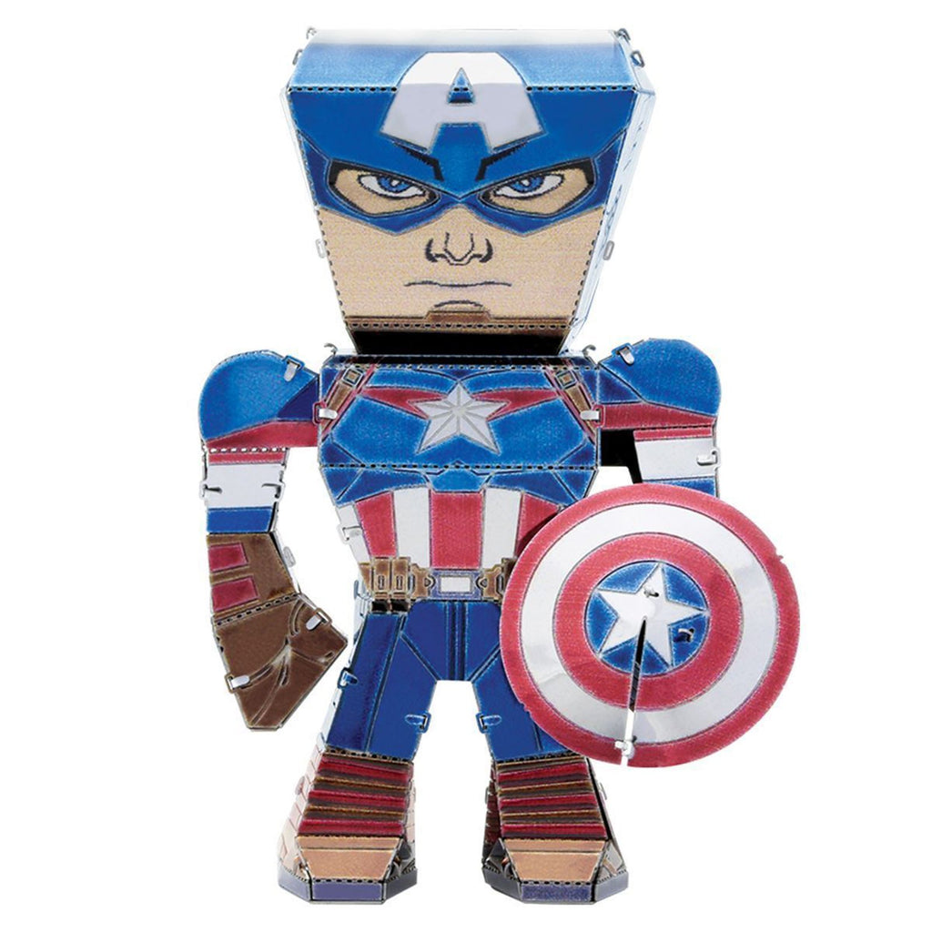 Metal Earth Legends Avengers Captain America Steel Model Kit