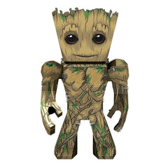 Building Kit - Metal Earth Legends Guardians Of The Galaxy Groot Steel Model Kit