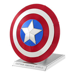 Building Kit - Metal Earth Marvel Avengers Captain America's Shield Steel Model Kit