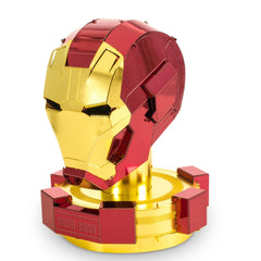Building Kit - Metal Earth Marvel Avengers Iron Man Helmet Steel Model Kit