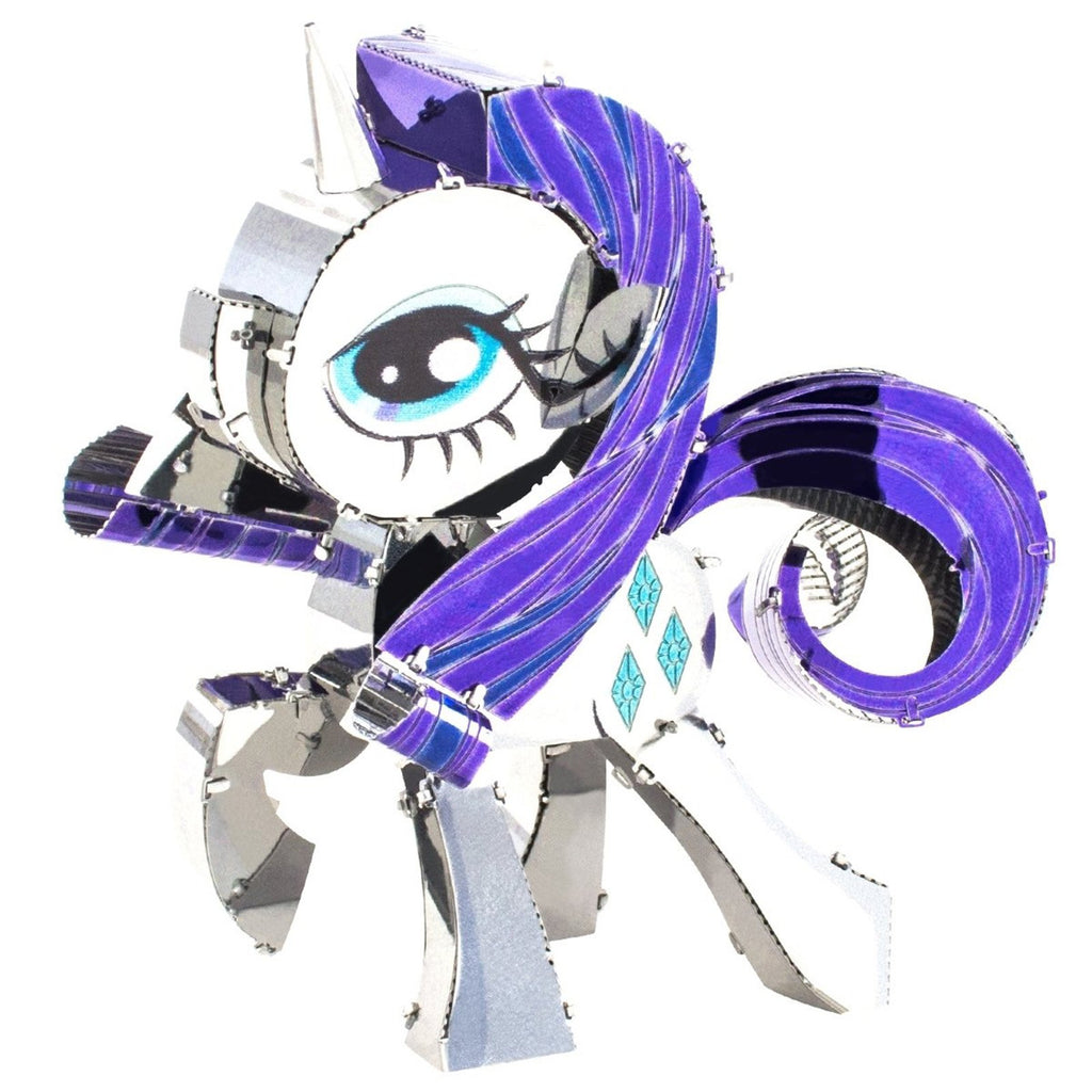 Building Kit - Metal Earth My Little Pony Rarity Steel Model Kit