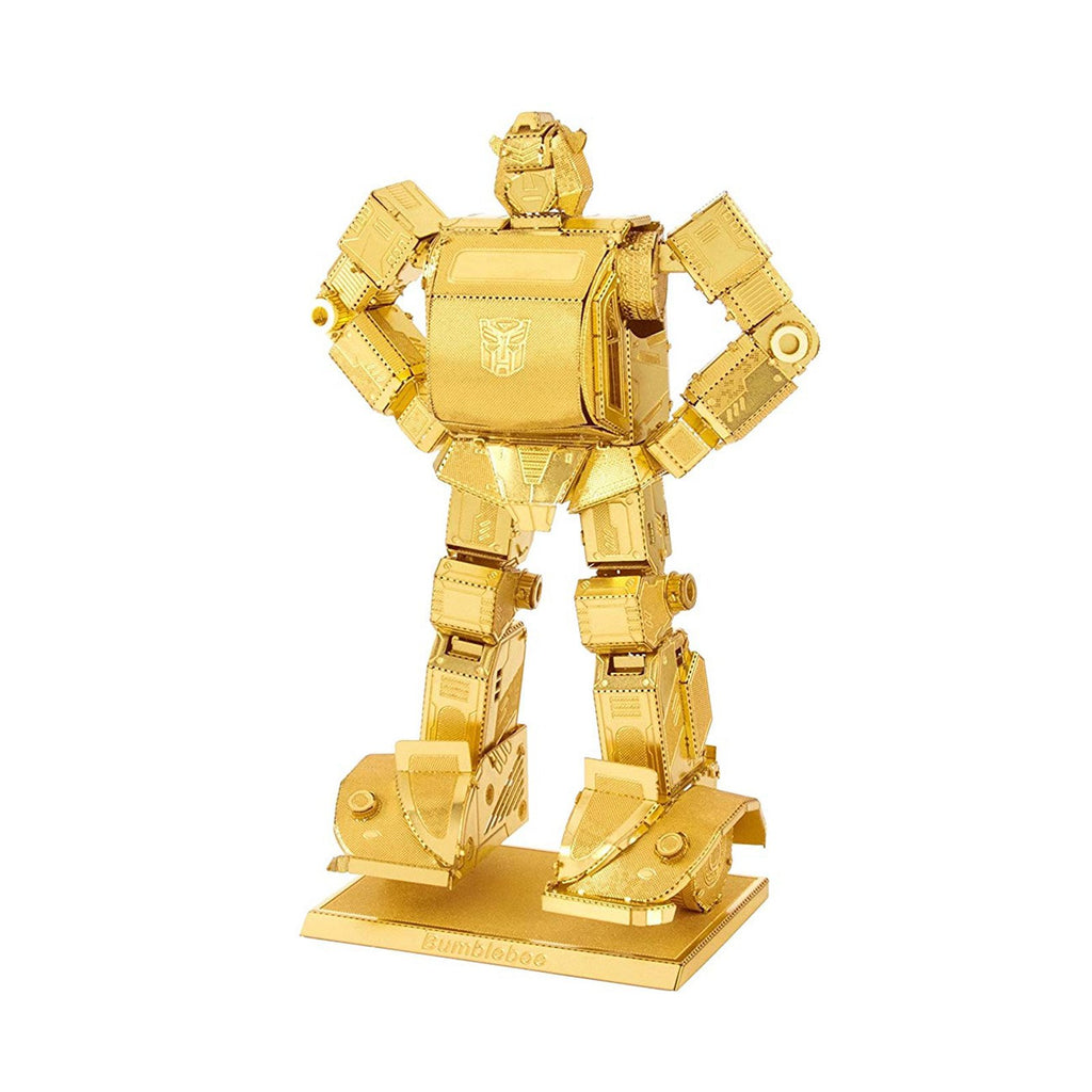 Metal Earth Transformers Bumblebee Gold Version Steel Model Kit