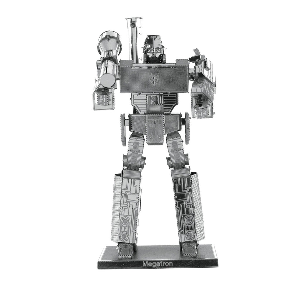 Building Kit - Metal Earth Transformers Megatron Steel Model Kit