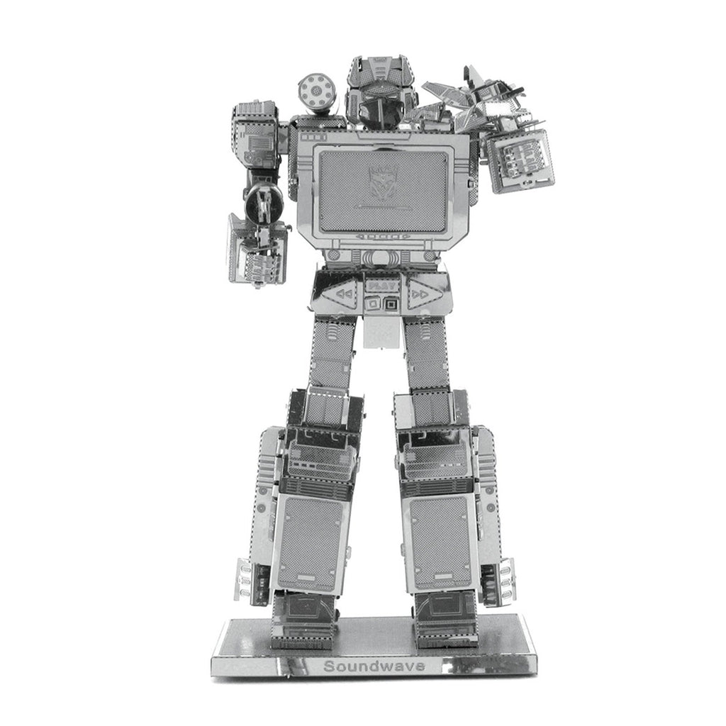 Metal Earth Transformers Soundwave Steel Model Kit