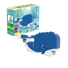 Building Set - Biobuddi Whale & Seal Arctic Blocks ECO Friendly Building Set 100674