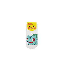 Pokemon Bulbasaur Single Pair Youth Ankle Socks