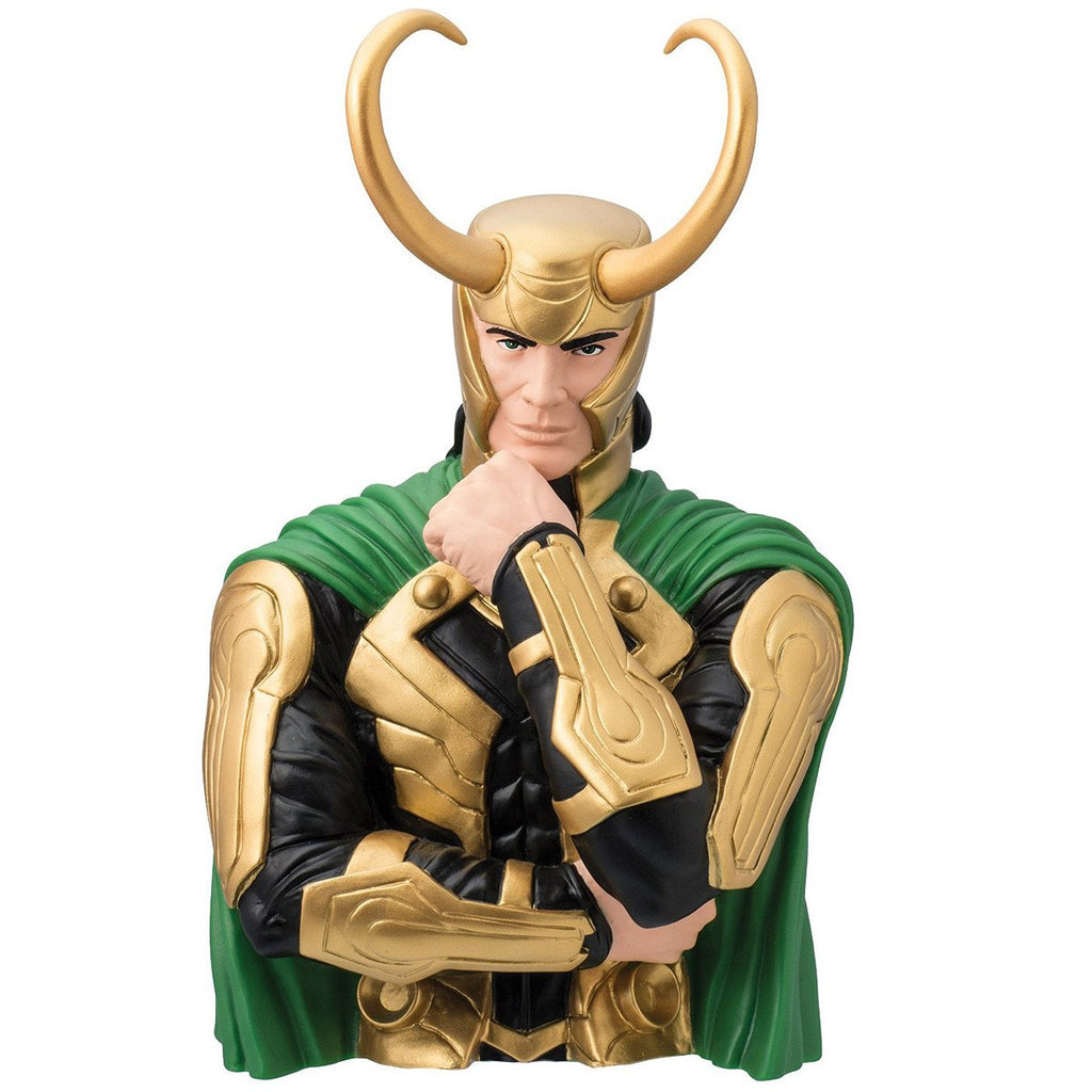 Marvel Avengers Loki Bust Bank