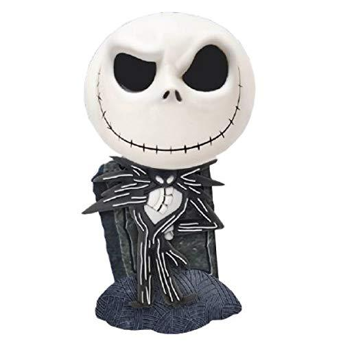 Monogram Jack Skellington With Tombstone Bust Bank