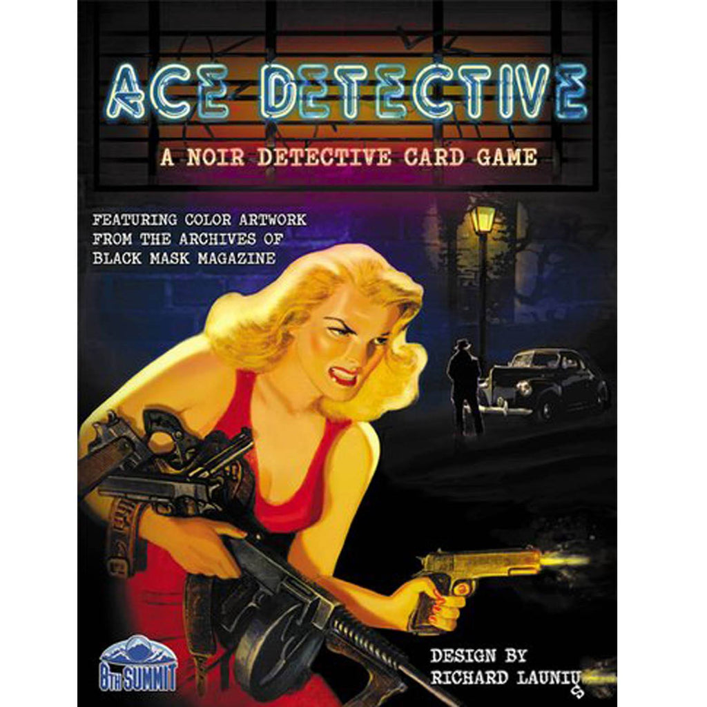 Ace Detective The Card Game - Radar Toys