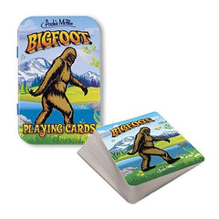 Card Games - Bigfoot Playing Cards