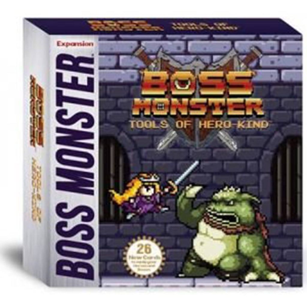 Boss Monster Tools of Hero-Kind The Dungeon Building Card Game - Radar Toys