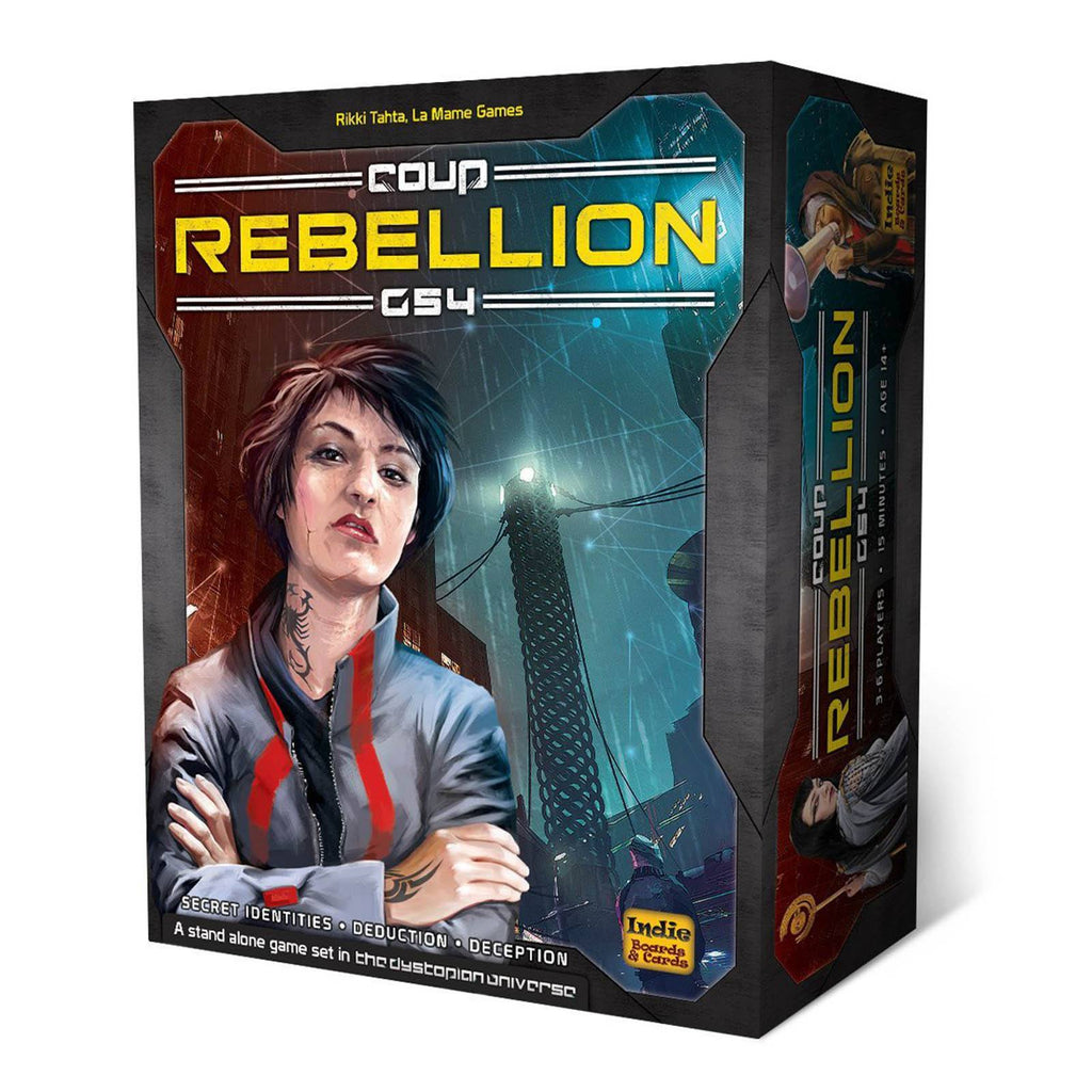 Coup Rebellion G54 The Card Game - Radar Toys