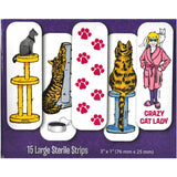 Card Games - Crazy Cat Lady 15 Large Sterile Bandages