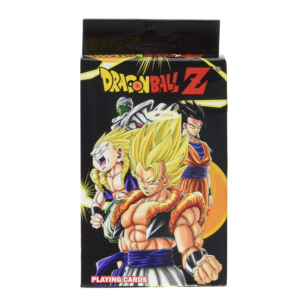 Dragon Ball Z Characters Playing Cards