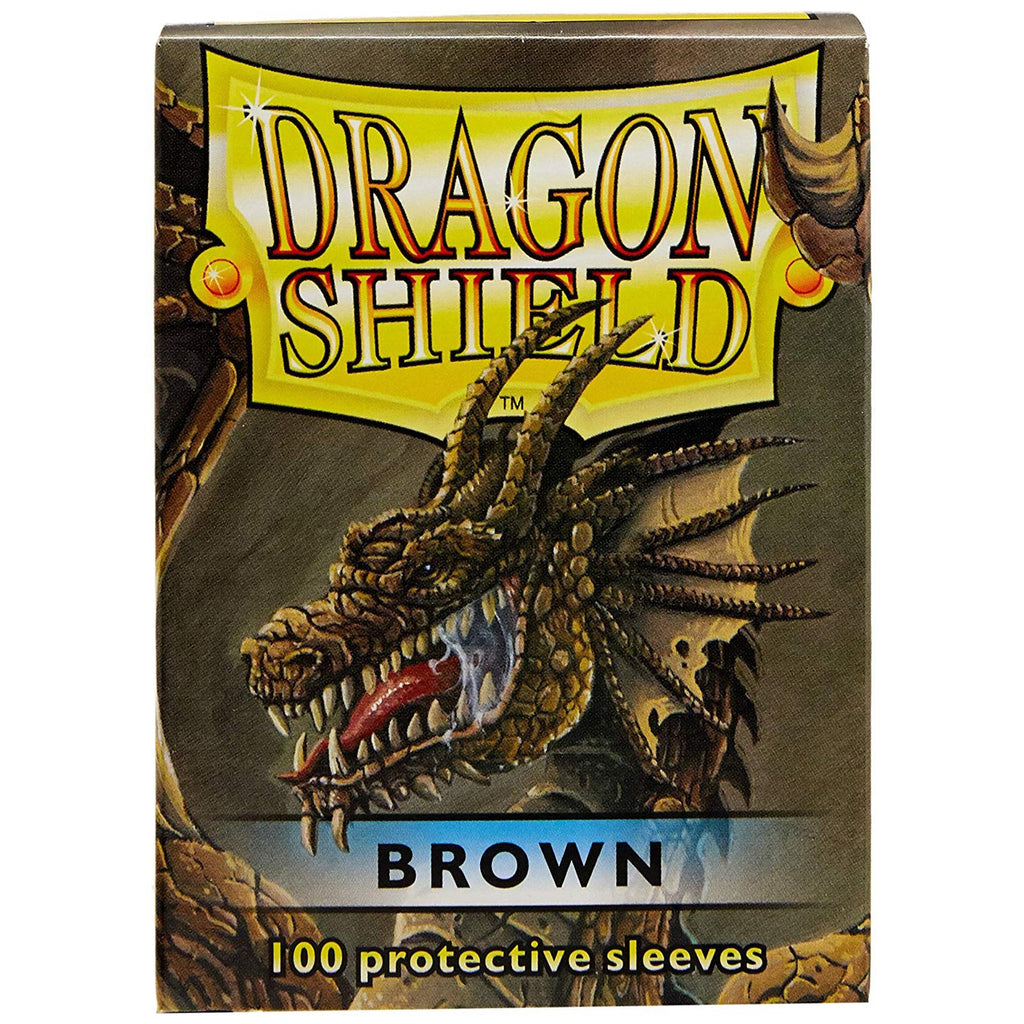 Dragon Shield Brown 100 Standard Size Card Sleeves