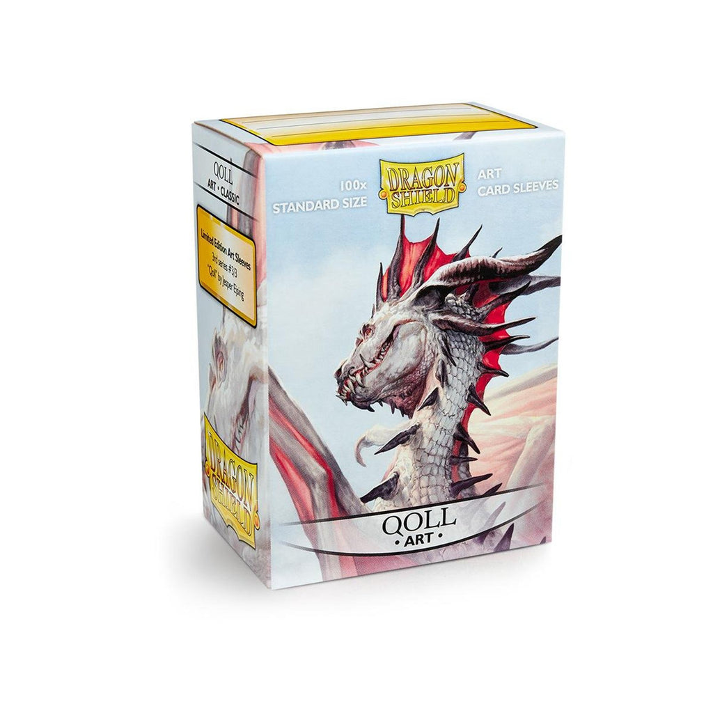Dragon Shield Qoll Art 100 Standard Size Card Sleeves