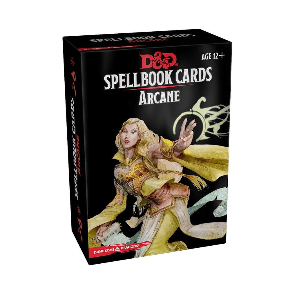 Dungeon And Dragons Arcane Spellbook Cards