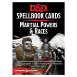 Card Games - Dungeons And Dragons Martial Powers And Races Spell Cards Deck