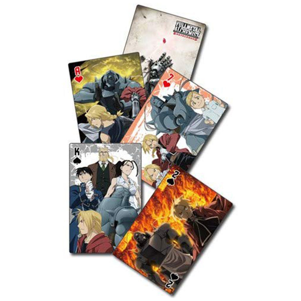 Fullmetal Alchemist Brotherhood Group Playing Cards